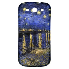 Vincent Van Gogh Starry Night Over The Rhone Samsung Galaxy S3 S Iii Classic Hardshell Back Case by MasterpiecesOfArt