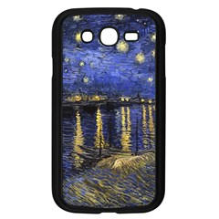 Vincent Van Gogh Starry Night Over The Rhone Samsung Galaxy Grand Duos I9082 Case (black) by MasterpiecesOfArt