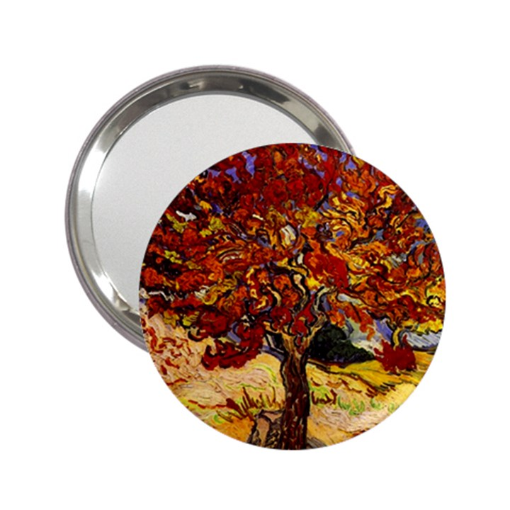 db19eea628 Vincent Van Gogh Mulberry Tree Handbag Mirror (2 25