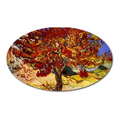 Vincent Van Gogh Mulberry Tree Magnet (oval) by MasterpiecesOfArt