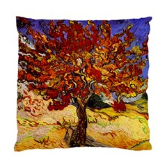 Vincent Van Gogh Mulberry Tree Cushion Case (single Sided)  by MasterpiecesOfArt