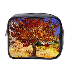 Vincent Van Gogh Mulberry Tree Mini Travel Toiletry Bag (two Sides) by MasterpiecesOfArt