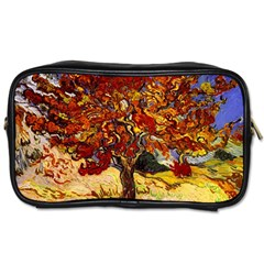 Vincent Van Gogh Mulberry Tree Travel Toiletry Bag (one Side) by MasterpiecesOfArt