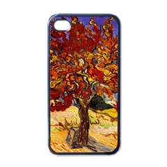 Vincent Van Gogh Mulberry Tree Apple Iphone 4 Case (black) by MasterpiecesOfArt