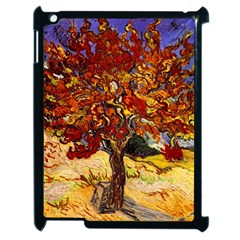 Vincent Van Gogh Mulberry Tree Apple Ipad 2 Case (black) by MasterpiecesOfArt