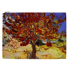 Vincent Van Gogh Mulberry Tree Cosmetic Bag (xxl) by MasterpiecesOfArt