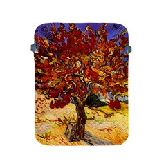 Vincent Van Gogh Mulberry Tree Apple Ipad Protective Sleeve by MasterpiecesOfArt