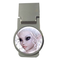 Fairy Elfin Elf Nymph Faerie Money Clip (round) by goldenjackal