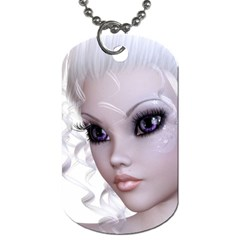 Fairy Elfin Elf Nymph Faerie Dog Tag (two Sided)