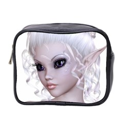 Fairy Elfin Elf Nymph Faerie Mini Travel Toiletry Bag (two Sides) by goldenjackal