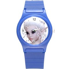 Fairy Elfin Elf Nymph Faerie Plastic Sport Watch (small) by goldenjackal