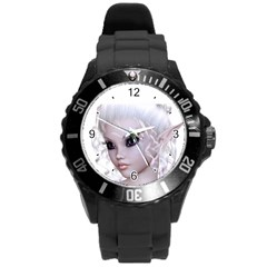 Fairy Elfin Elf Nymph Faerie Plastic Sport Watch (large) by goldenjackal