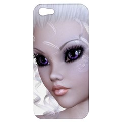 Faerie Nymph Fairy Apple Iphone 5 Hardshell Case by goldenjackal