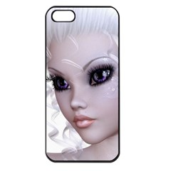 Fairy Elfin Elf Nymph Faerie Apple Iphone 5 Seamless Case (black) by goldenjackal
