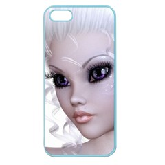 Fairy Elfin Elf Nymph Faerie Apple Seamless Iphone 5 Case (color) by goldenjackal