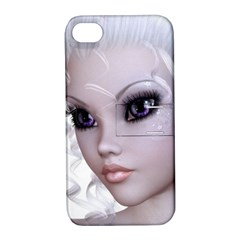 Fairy Elfin Elf Nymph Faerie Apple Iphone 4/4s Hardshell Case With Stand by goldenjackal
