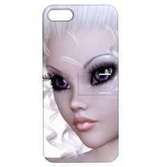 Fairy Elfin Elf Nymph Faerie Apple Iphone 5 Hardshell Case With Stand by goldenjackal
