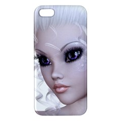Faerie Nymph Fairy Iphone 5s Premium Hardshell Case by goldenjackal