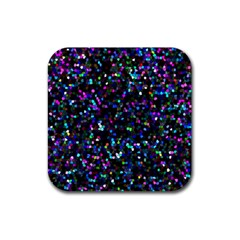 Glitter 1 Drink Coasters 4 Pack (square)
