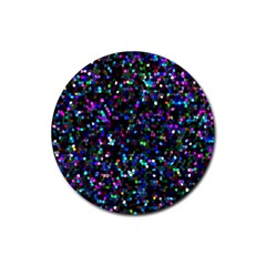 Glitter 1 Drink Coasters 4 Pack (round)