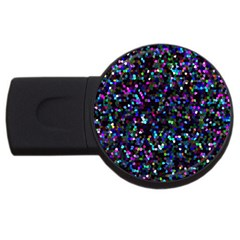 Glitter 1 2gb Usb Flash Drive (round) by MedusArt