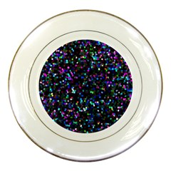 Glitter 1 Porcelain Display Plate