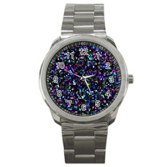 Glitter 1 Sport Metal Watch by MedusArt