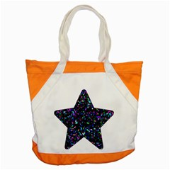Glitter 1 Accent Tote Bag by MedusArt