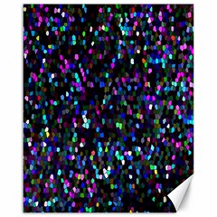 Glitter 1 Canvas 16  X 20  (unframed) by MedusArt