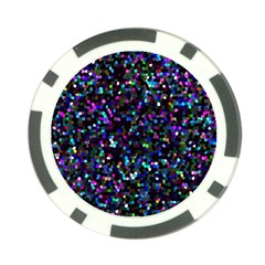 Glitter 1 Poker Chip by MedusArt
