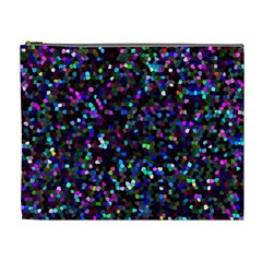 Glitter 1 Cosmetic Bag (xl) by MedusArt