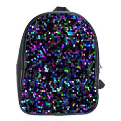 Glitter 1 School Bag (large) by MedusArt