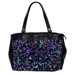 Glitter 1 Oversize Office Handbag (two Sides) by MedusArt