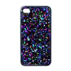 Glitter 1 Apple Iphone 4 Case (black) by MedusArt