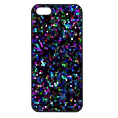 Glitter 1 Apple Iphone 5 Seamless Case (black) by MedusArt