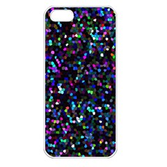 Glitter 1 Apple Iphone 5 Seamless Case (white)