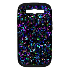 Glitter 1 Samsung Galaxy S Iii Hardshell Case (pc+silicone) by MedusArt