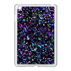 Glitter 1 Apple Ipad Mini Case (white) by MedusArt