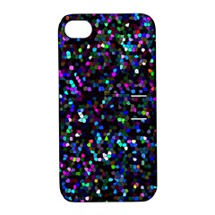 Glitter 1 Apple Iphone 4/4s Hardshell Case With Stand by MedusArt