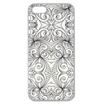 Drawing Floral Doodle 1 Apple Seamless iPhone 5 Case (Clear) Front