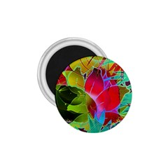 Floral Abstract 1 1 75  Button Magnet by MedusArt