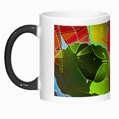 Floral Abstract 1 Morph Mug by MedusArt