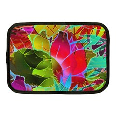 Floral Abstract 1 Netbook Sleeve (medium) by MedusArt