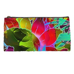 Floral Abstract 1 Pencil Case by MedusArt
