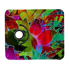 Floral Abstract 1 Samsung Galaxy S  Iii Flip 360 Case by MedusArt