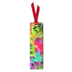 Floral Abstract 1 Small Bookmark by MedusArt