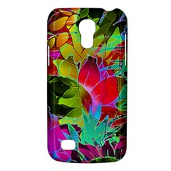 Floral Abstract 1 Samsung Galaxy S4 Mini (gt I9190) Hardshell Case  by MedusArt