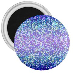 Glitter2 3  Button Magnet by MedusArt
