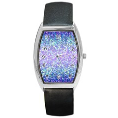 Glitter2 Tonneau Leather Watch