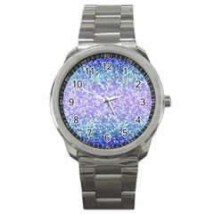 Glitter2 Sport Metal Watch by MedusArt
